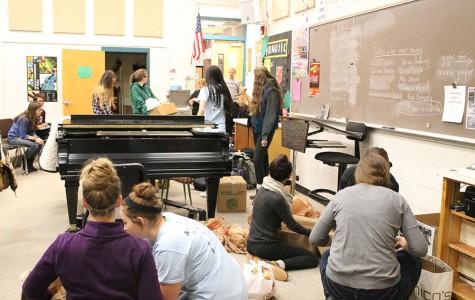Food drive: Performing arts