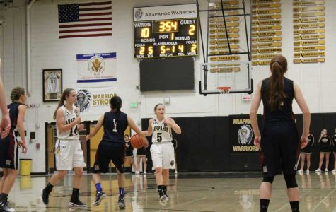 Girls Varsity Basketball preview vs. Cherry Creek High School
