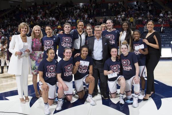 Photo by Stephen Slade, UConn Women's Basketball