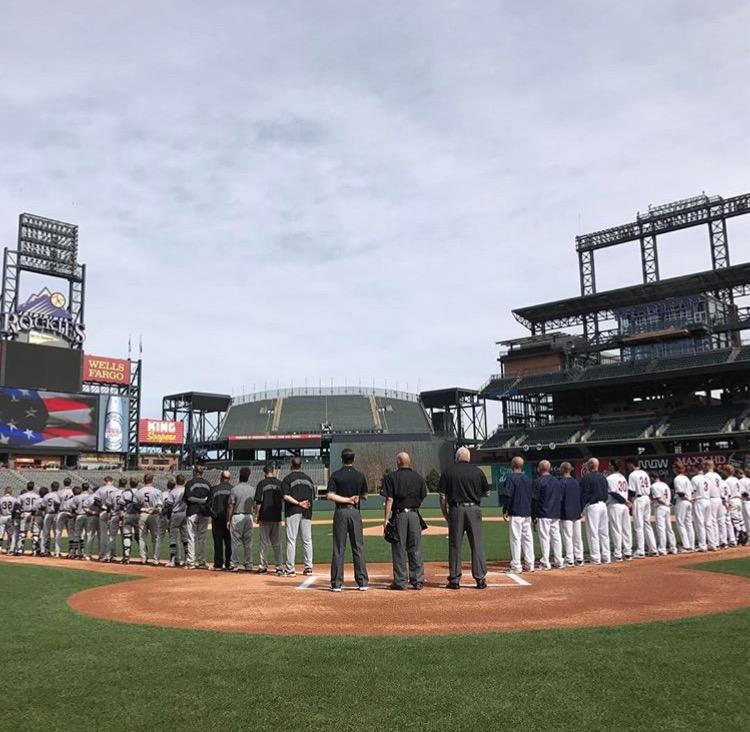 Warriors Win at Coors Field