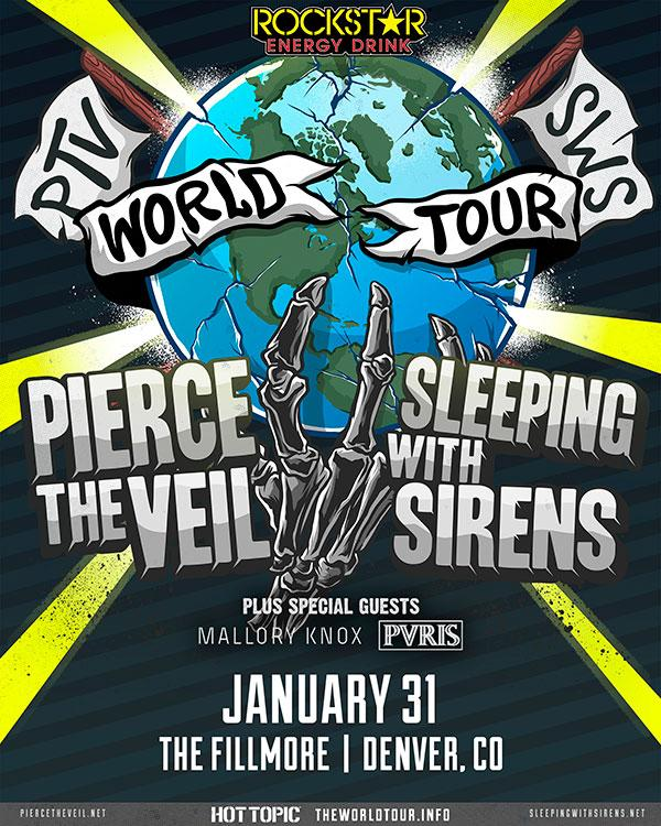 Pierce+the+Veil%2C+Sleeping+with+Sirens+World+Tour