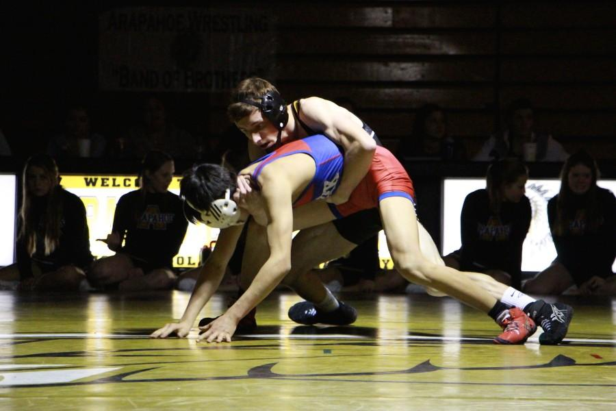 Arapahoe Wrestling takes on Regional tournament