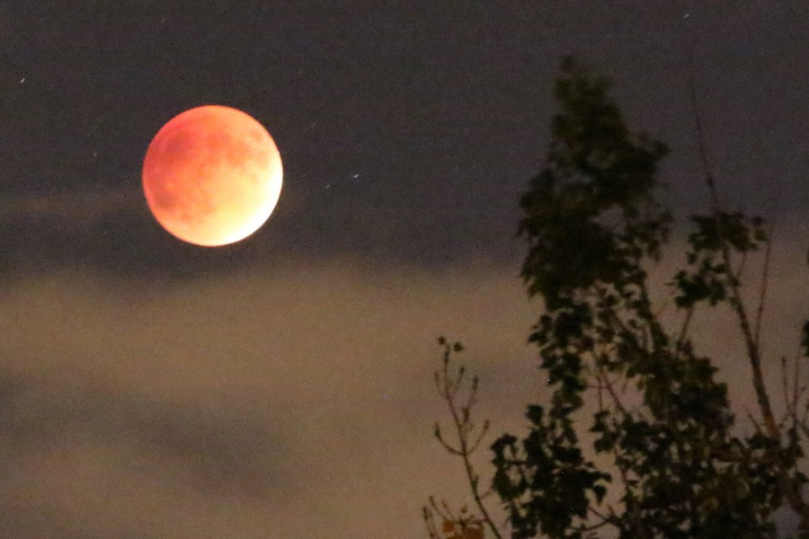 Eclipse of super blood moon signals end of tetrad