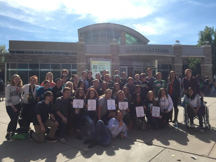 Arapahoe Student Media brings in six awards from Journalism Day