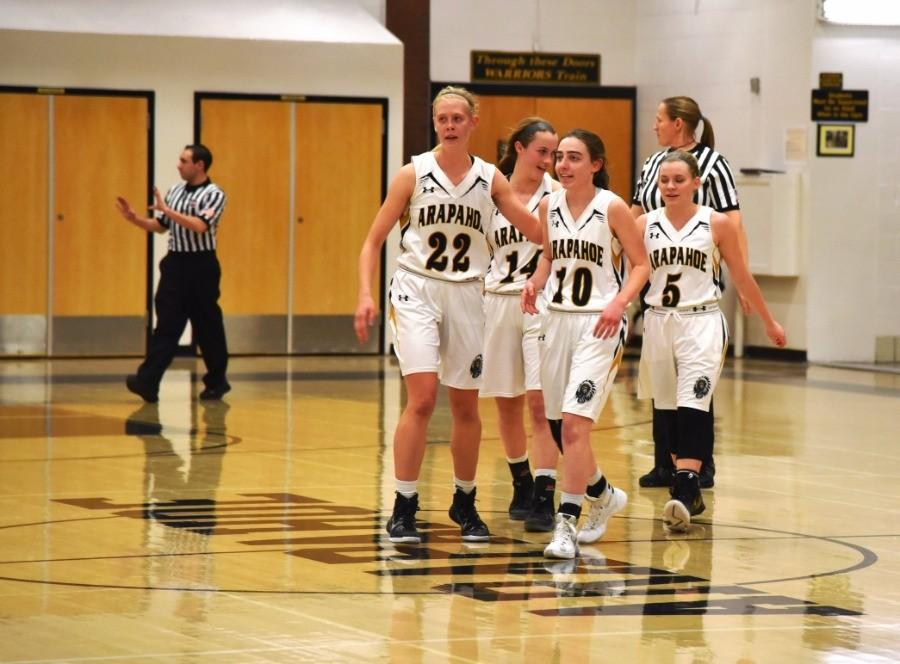 Arapahoe Girls Basketball Moves on to the Sweet Sixteen