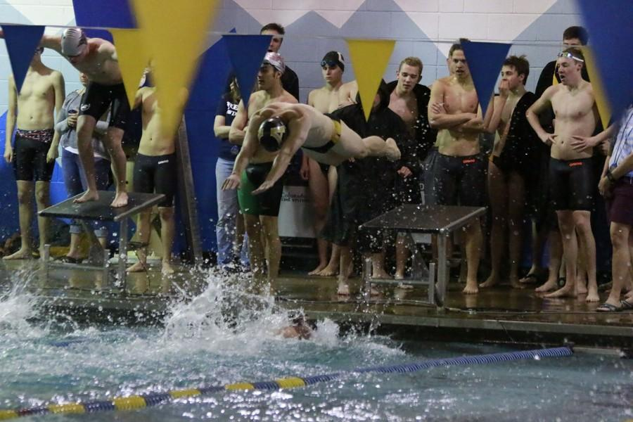 Boys Swim and Dive wins Jeffco Invite