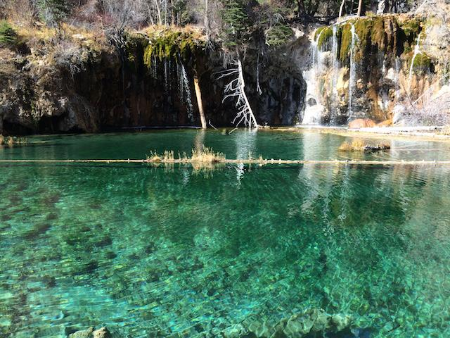 A picture taken at the top of Hanging Lake Hike