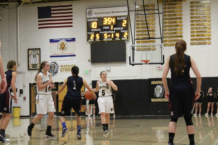 Girls Varsity Basketball preview vs. Cherry Creek High School