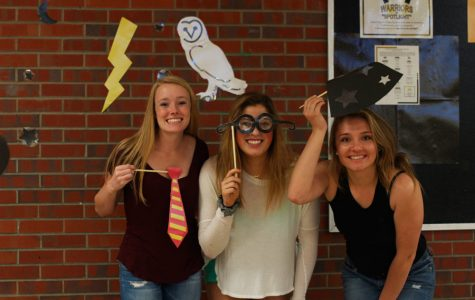 Arapahoe High School's Warrior Week Carnival -- Photo Booth Pictures