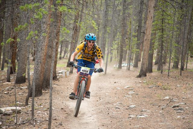Warriors' Mountain Biking Club takes on Cloud City Challenge