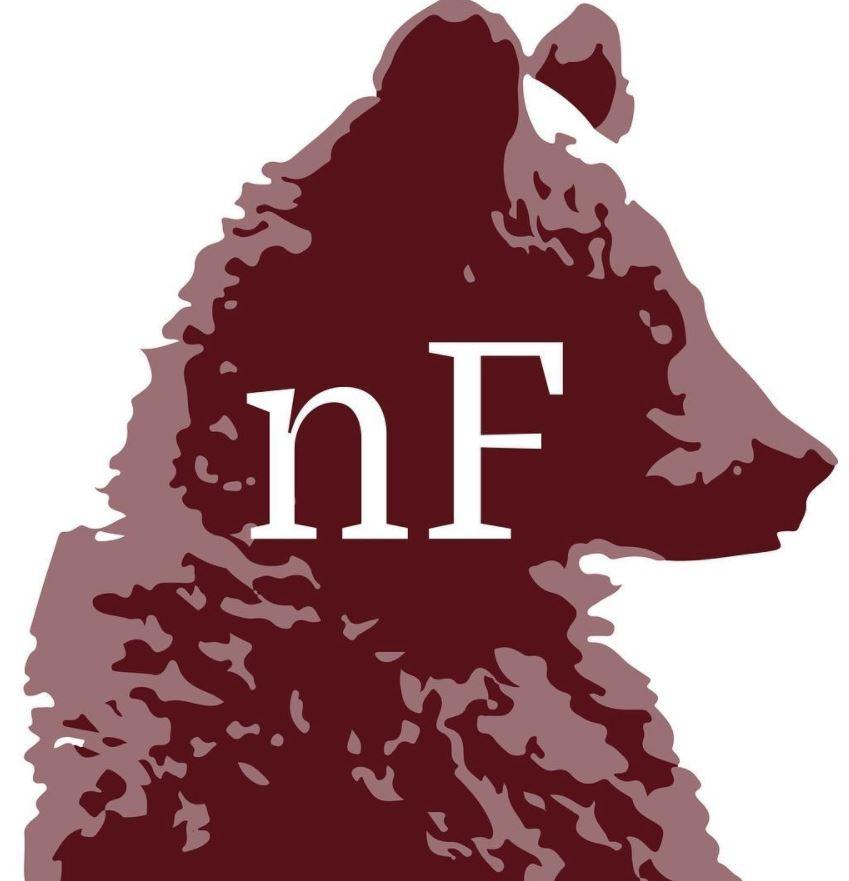 Normal Forces logo, designed by Grant Brumage-Heller, 11.