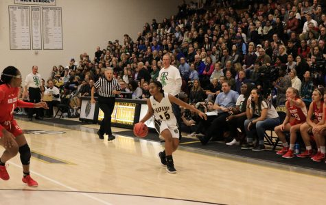 Eliana McClarie in the Arapahoe Foundation Game.