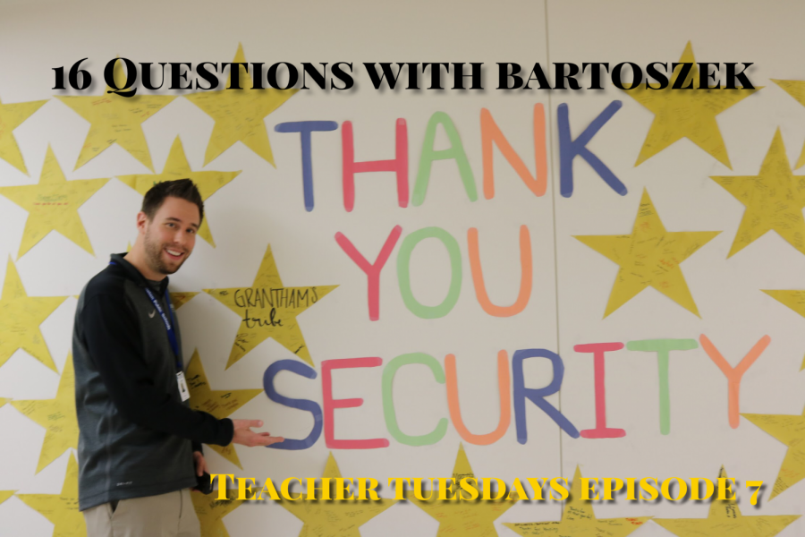 Teacher Tuesdays with Mr. Bartoszek