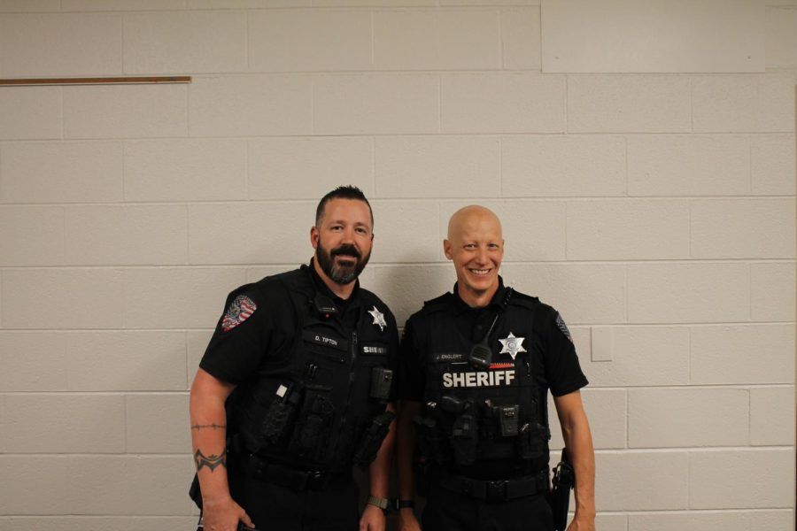Deputy Englert and Deputy Tipton (photo by Nathan Holmes)