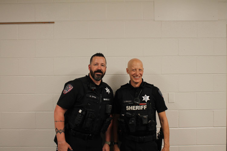 Deputy Englert and Deputy Tipton (photo by Nathan Holmes)
