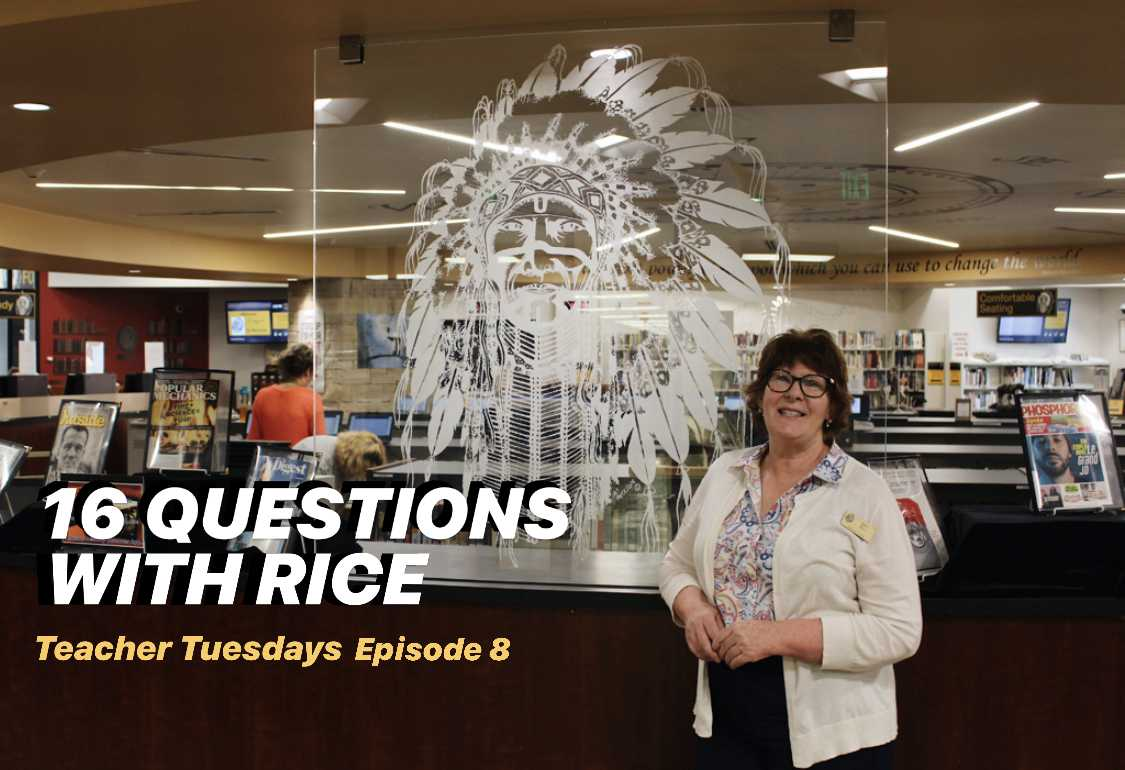 Teacher Tuesdays Episode 8 – Mrs  Rice – ArapahoeXtra