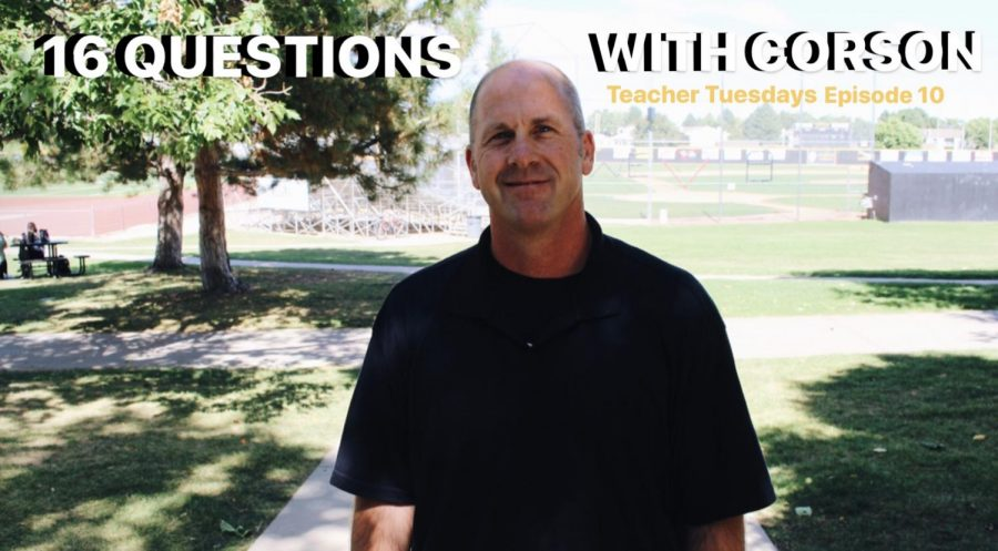 Teacher Tuesdays Episode 10 - Mr. Corson